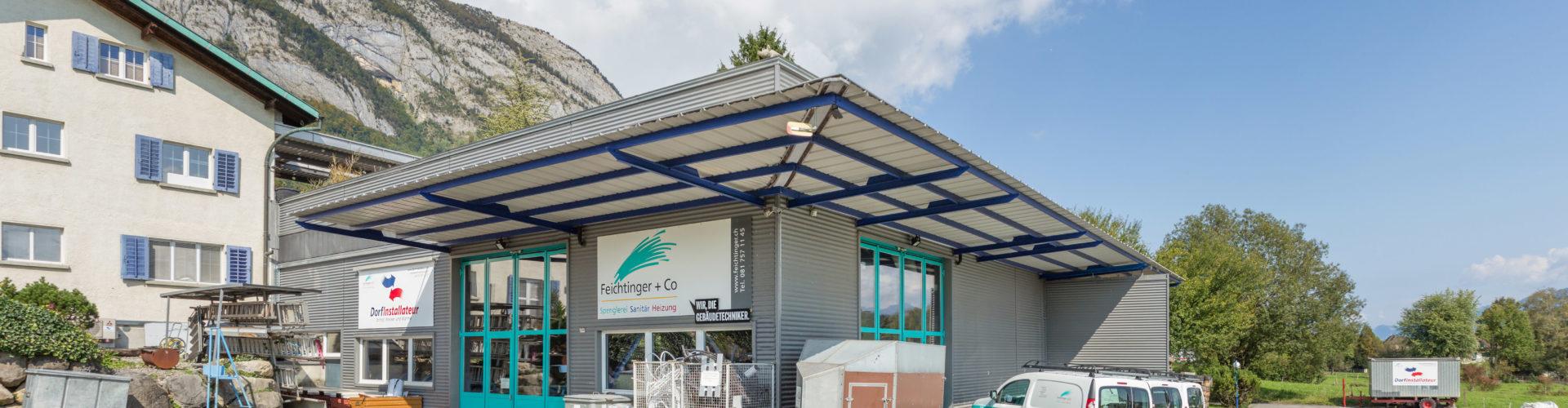 Dorfinstallateur Standort Sennwald Gebäude