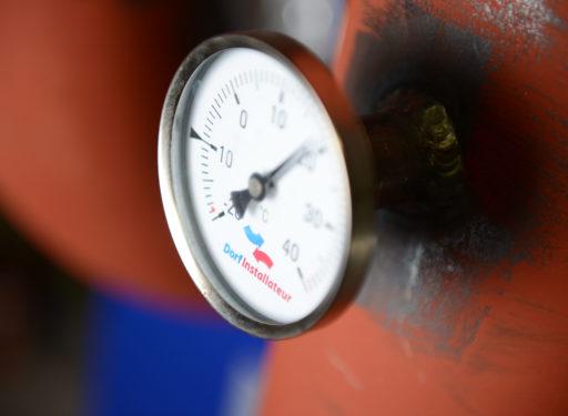 Dorfinstallateur Thermometer Heizung