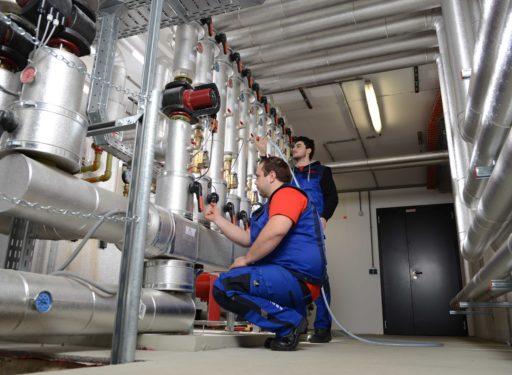 vinomna center service dorfinstallateur servicemonteure technikraum heizung