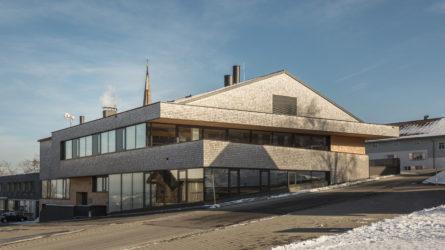Referenz Mehrzweckgebäude Buch Vorarlberg