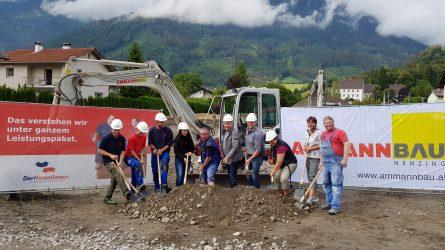 Team Peter Spatenstich Neubau Standort Bludenz Dorfinstallateur